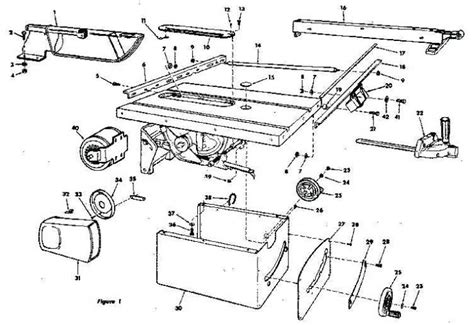Ryobi Bt3000 Table Saw Manual Wiring Diagrams Wiring Rockwell Table Saw Parts