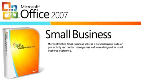 Microsoft Office Small Business by Pc Microsoft Office Small Business 2007 Pc Huuto Net
