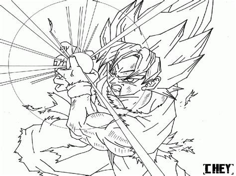 dragon ball z coloring pages to color online coloring home