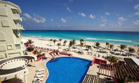 inclusive hotel nyx cancun stay  airfare