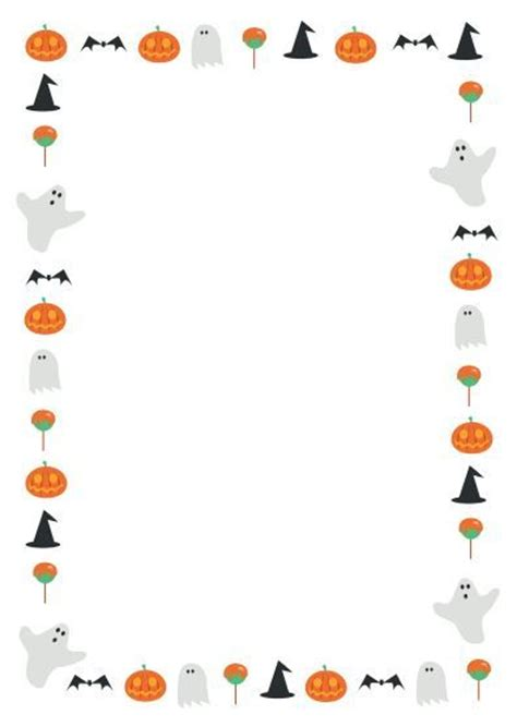 A Great Halloween Themed Page Border Page Borders Pinterest Teaching Resources Student Themed Word Template