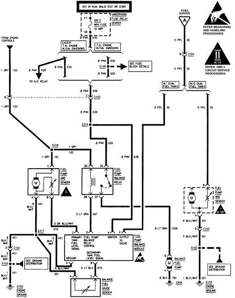 1996 Gmc Sierra Fuel Pump Wiring Diagram Collection