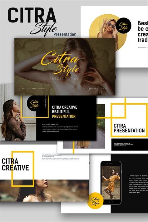 Citra Style Creative Keynote Template 66490 Creative Powerpoint Templates Free For Mac