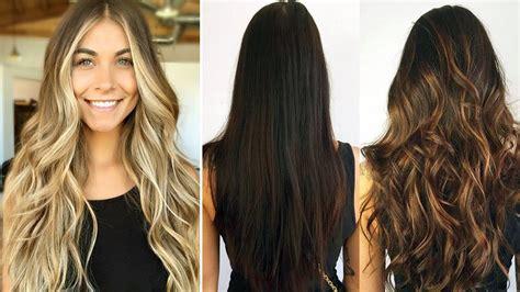 cortes de cabello largos modernos youtube cortes de pelo largo para mujeres de cara redonda cortes