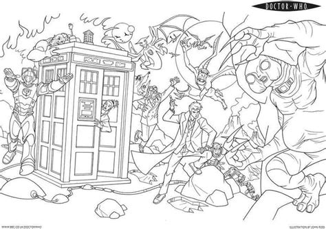 Doctor Who Coloring Pages If Anyone Needs Me I Ll Be Doctor Who Coloring Page