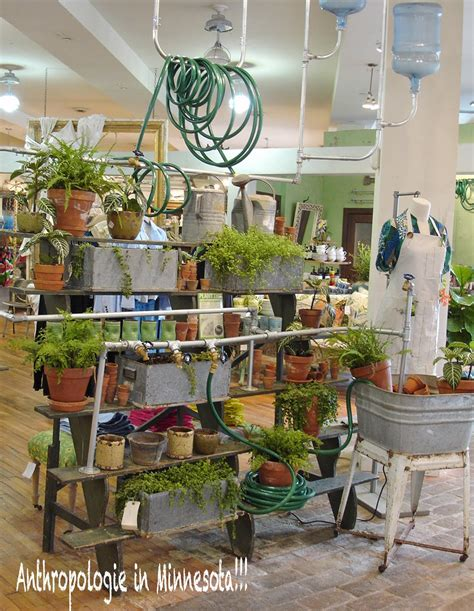 Anthropologie Gardens by Chippy Shabby Anthropologie Display Ideas