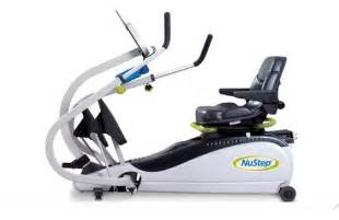 Nustep t4 trs 4000 recumbent elliptical used gym amp fitness