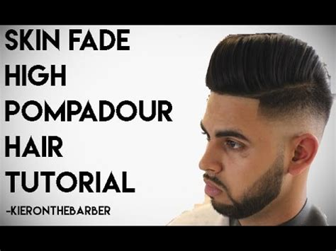 how to marco grow a rues hair cut skin fade pompadour kieron the barber youtube