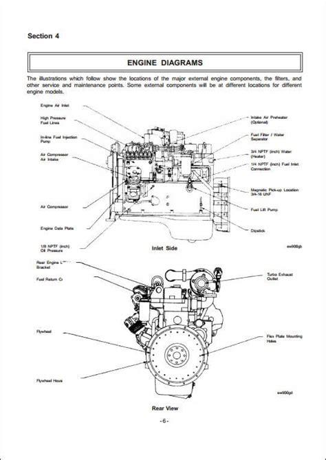 5 9 cummins engine diagram jcb cummins 4b 3 9 6b 5 9 engine service repair manual