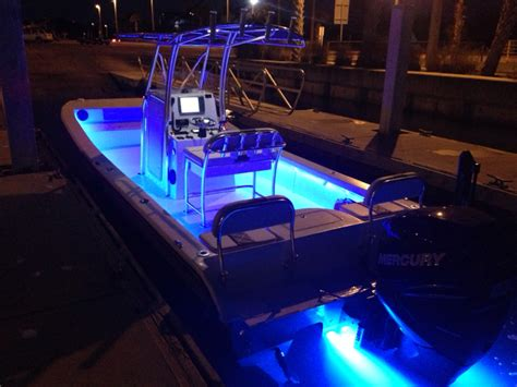 bay boat underwater lights new ameracat 25 bay boat the hull truth boating and