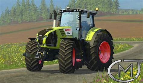 river of goods ls claas axion 850