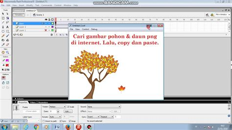 tutorial membuat daun rajut tutorial membuat daun gugur macromedia flash youtube
