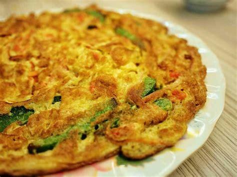 cara membuat omelet vegetarian image gallery telur dadar