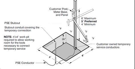 wiring diagram temporary power pole 35 wiring diagram