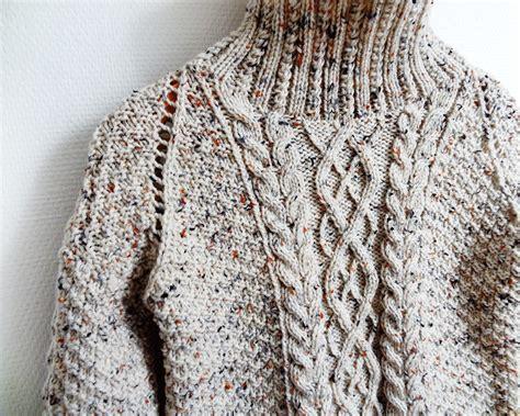 chunky aran knitting patterns handy my chunky knit aran sweater is finished