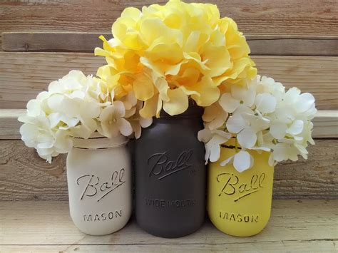 yellow and gray baby shower centerpieces yellow and grey decoryellow and gray by countryhomeandheart