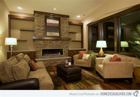 great decor design earth tone colors for a living room pictures