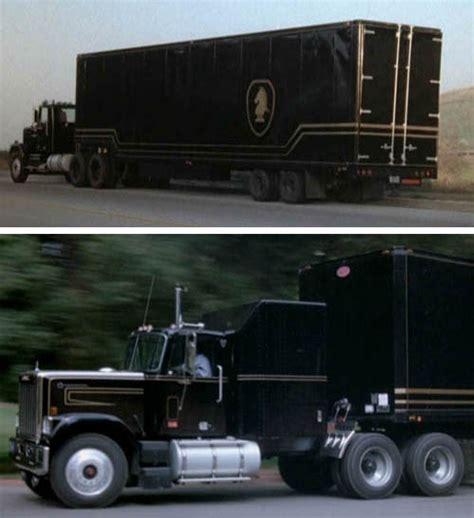 film semi canada jbot decals knight rider transport