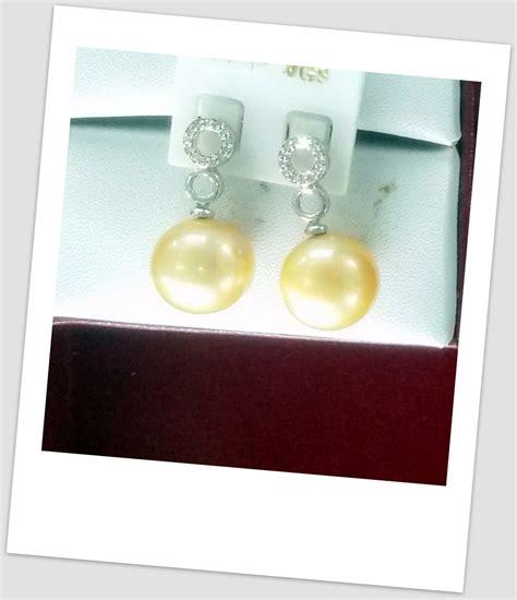 anting anting emas anting mutiara emas 0064 info harga perhiasan mutiara