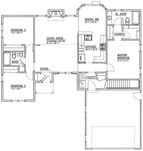 home planners inc house plans ranch 9651 els designs residential home design