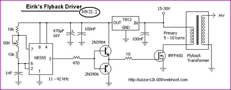 single transistor flyback driver p channel mosfet zvs flyback driver electrical engineering stack exchange