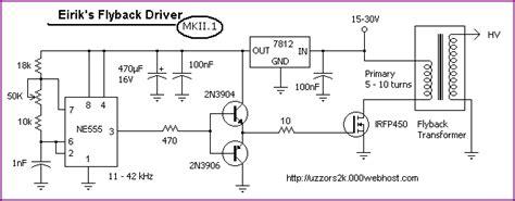 dual transistor flyback driver dual transistor flyback driver 28 images stable flyback transfomer drive circuit dual