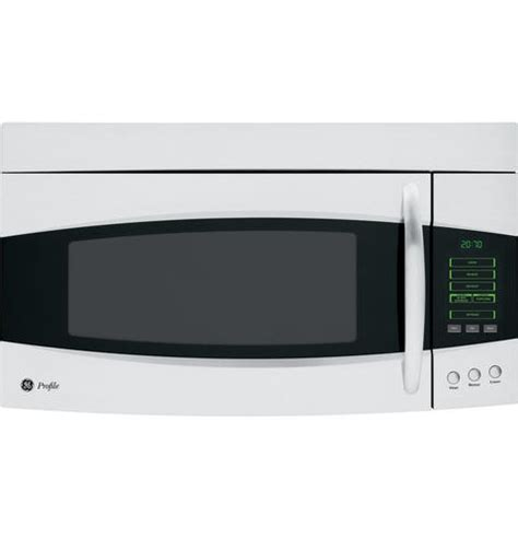 ge profile microwave ge profile spacemaker 174 2 0 cu ft the range microwave oven pvm2070smss ge appliances