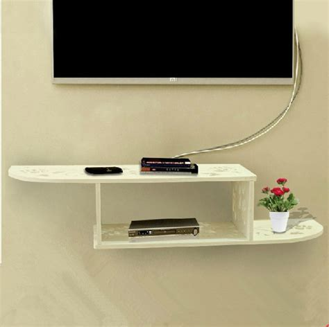 Rak Dinding Shelf Set 40cm Promo tv set top box racks the wall hanging rack carved plate