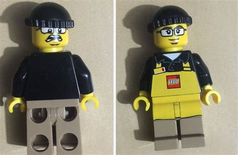 Sale Lego 5001622 Lego Store Employee official lego store employee minifigure for sale on ebay minifigure price guide