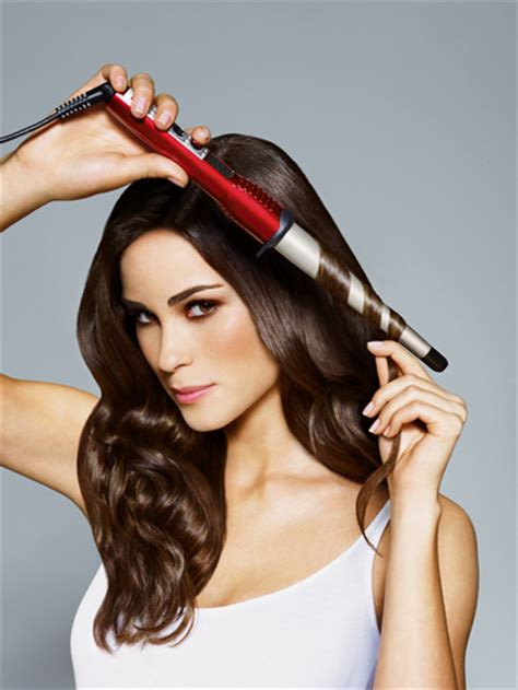 diy hairstyles curling iron diy how to make your own clipless curling iron nzgirl