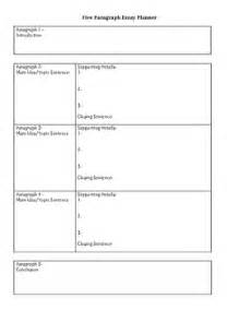 Five Paragraph Essay Graphic Organizer by Five Paragraph Essay Planner Graphic Organizer By Becky S Room Tpt