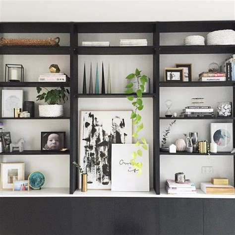 whole wall bookshelves 25 best ideas about black bookcase on decorating a bookcase bookshelf styling and