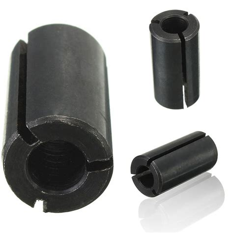 Adaptor Router 1 2 quot to 1 4 quot router collet adaptor reduction sleeve tool bit a3 carbon steels ebay
