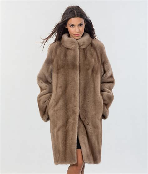 Mink Coat nafa mink pastel fur coat 100 real fur coats