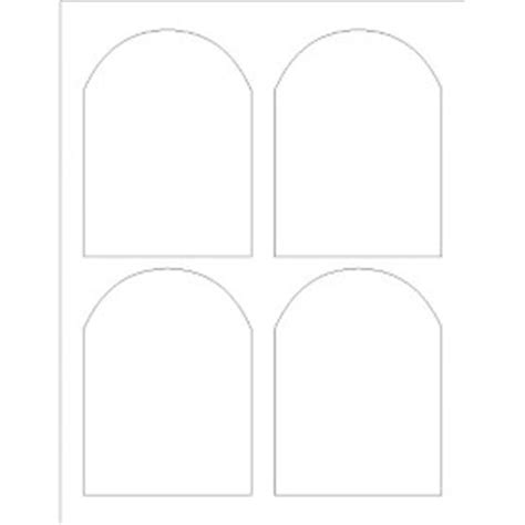templates arched labels 4 per sheet adobe photoshop