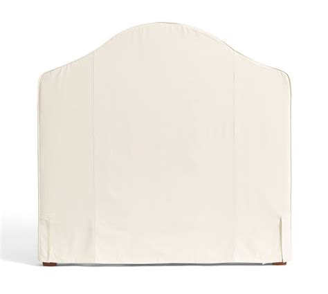 pottery barn riley headboard riley slipcovered headboard pottery barn