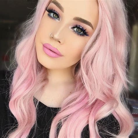 pink hair ideas     crazy color hair