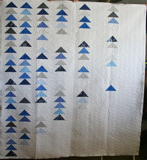 modern flying geese ideal stitches longarm quilting