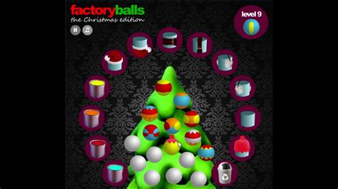 factory balls christmas edition level 9 cool math