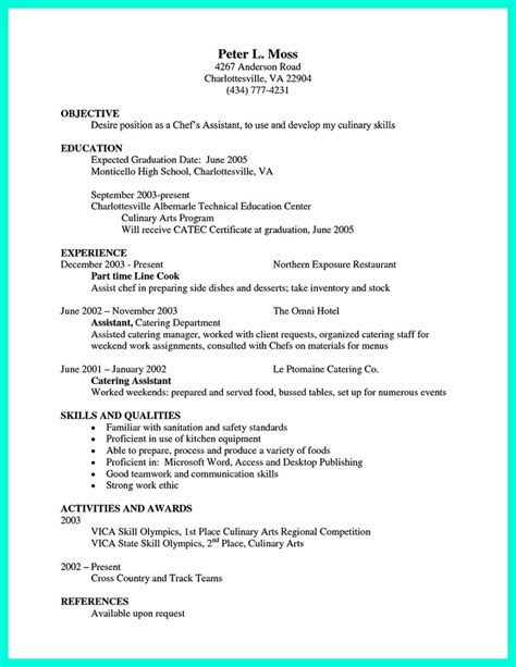 chef career objective chef resumes that will impress your future company