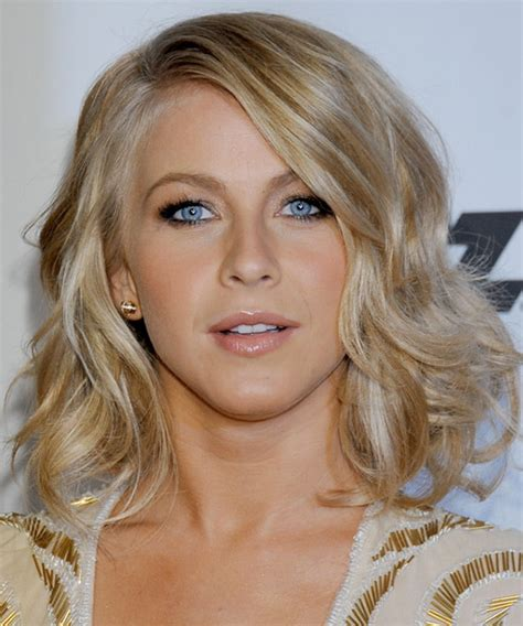 julianna huff hair julianne hough medium wavy formal hairstyle medium