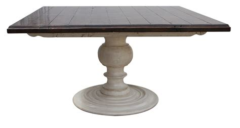 pedestal dining room tables reclaimed wood pedestal dining room table mortise tenon