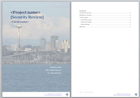 project report template word 2010 dradis pro report templates and methodologies for