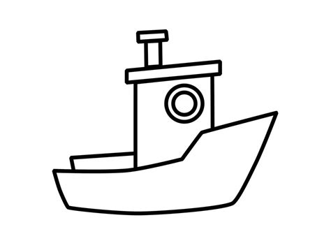 21 printable boat coloring pages free