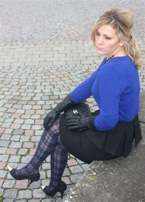 fashion tights skirt dress heels  nice dressed women
