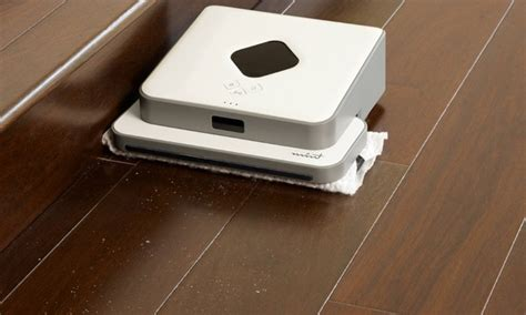 irobot mint 4200 floor robotic cleaner groupon