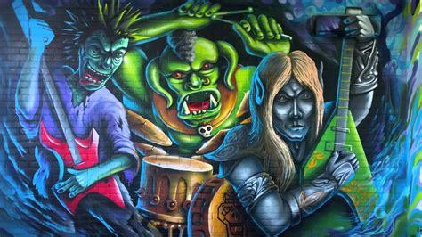 Graffiti Backgrounds 4K Download