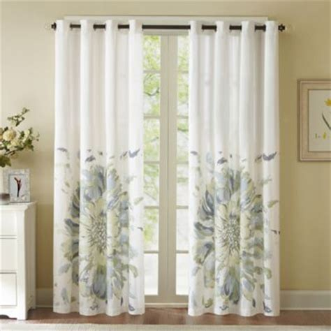 84 inch window curtains buy insola sphere 84 inch grommet blackout window curtain