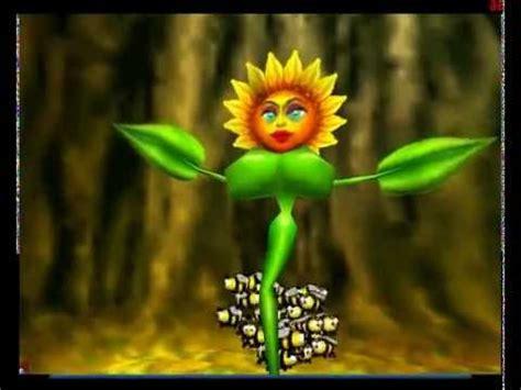 Gamis Big Flower conker s bad fur day sunflower eng subtitles