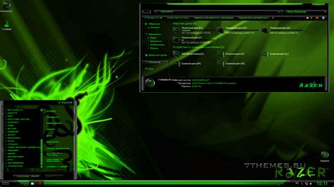 download theme windows 8 1 razer тема quot razer green red quot для windows 7